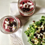 antioxidant smoothie recipe topped with coconut and berries