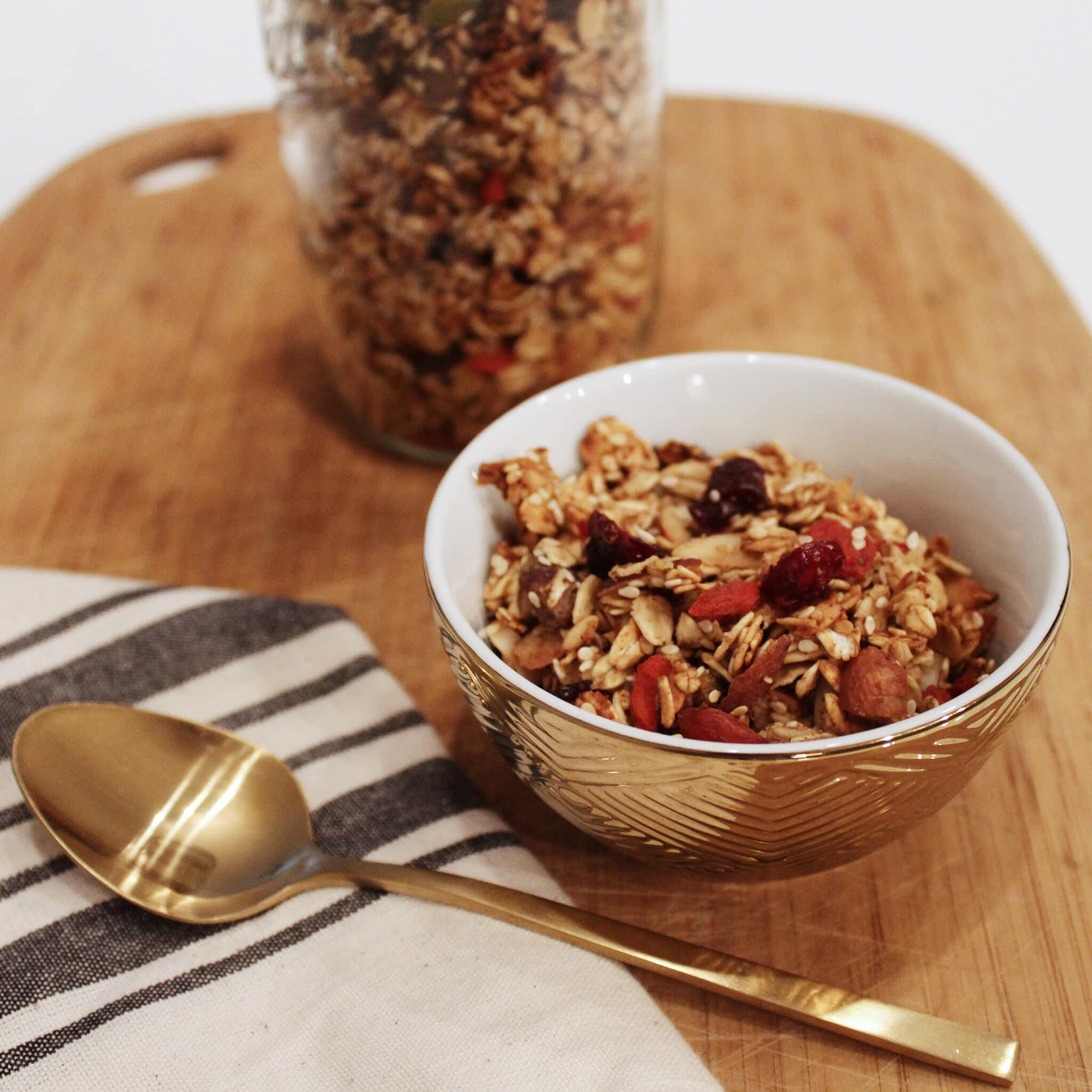Granola Recipe Featured Image