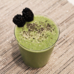 morning green smoothie for beginners