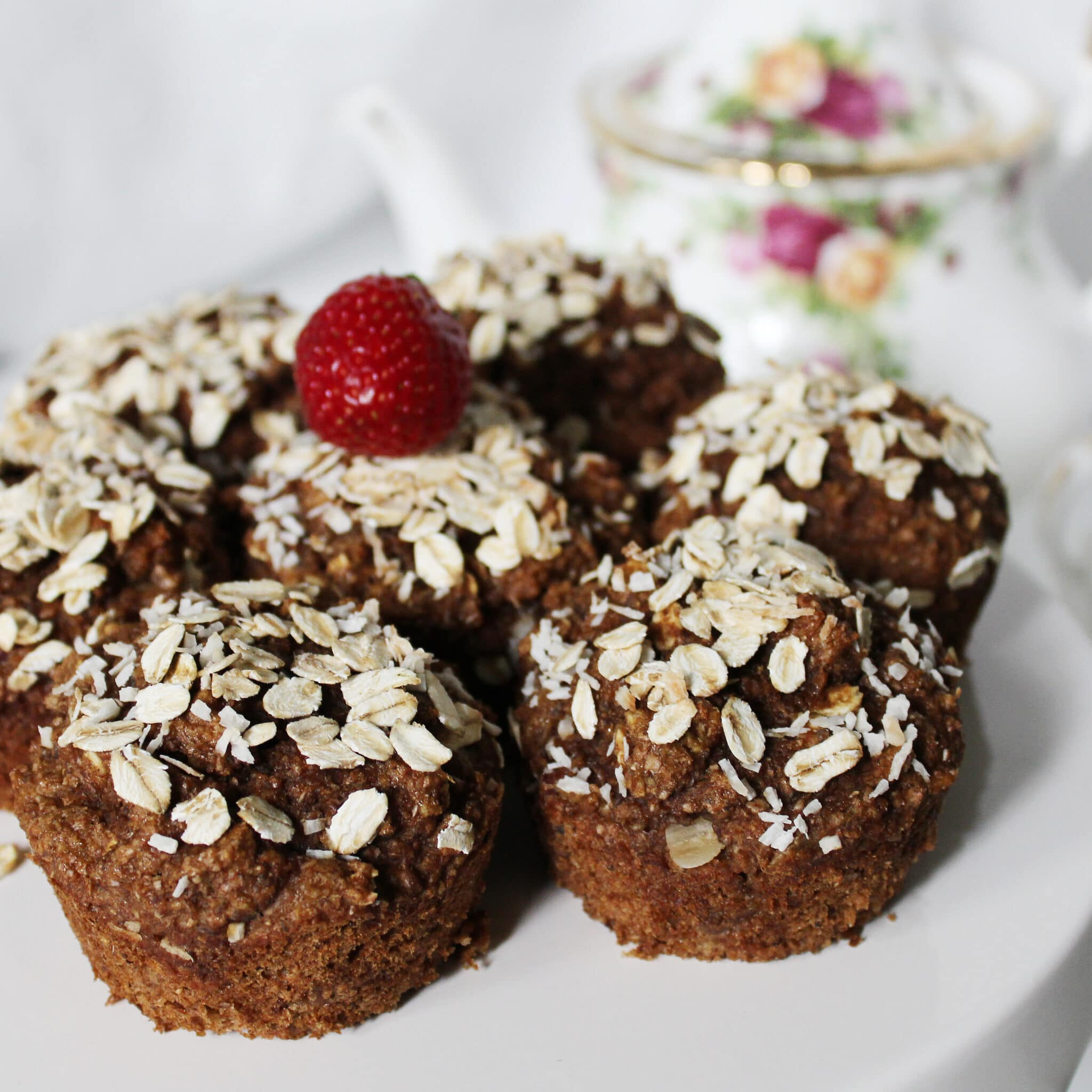 Applesauce Date Muffins