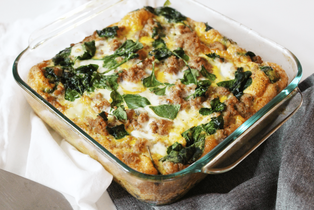 Turkey-&-Egg-Breakfast-Casserole-4