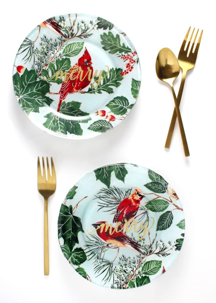 Fabric Covered Plates - Aimee Mars