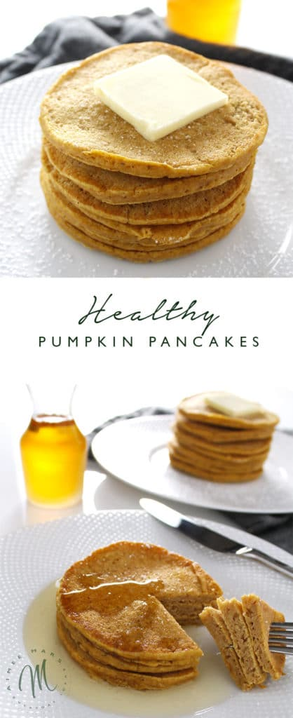 This seasonal recipe for Pumpkin Pancakes is not only healthy, but also delicious and easy to prepare. You can enjoy them without the guilt!