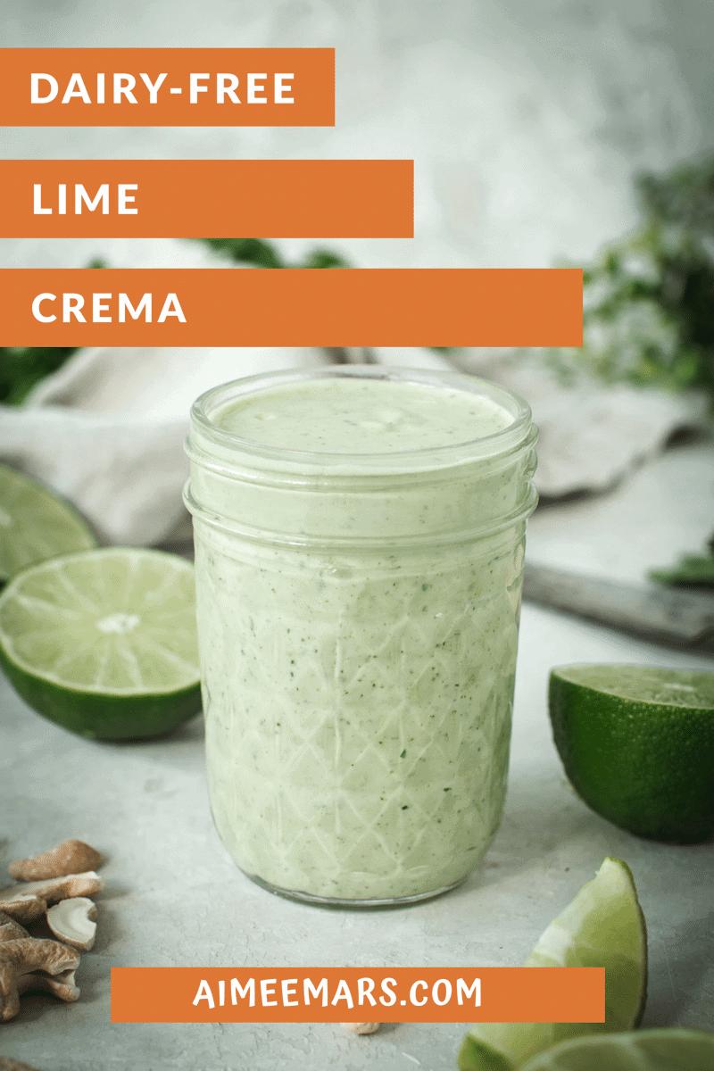 Lime Crema Pin Image