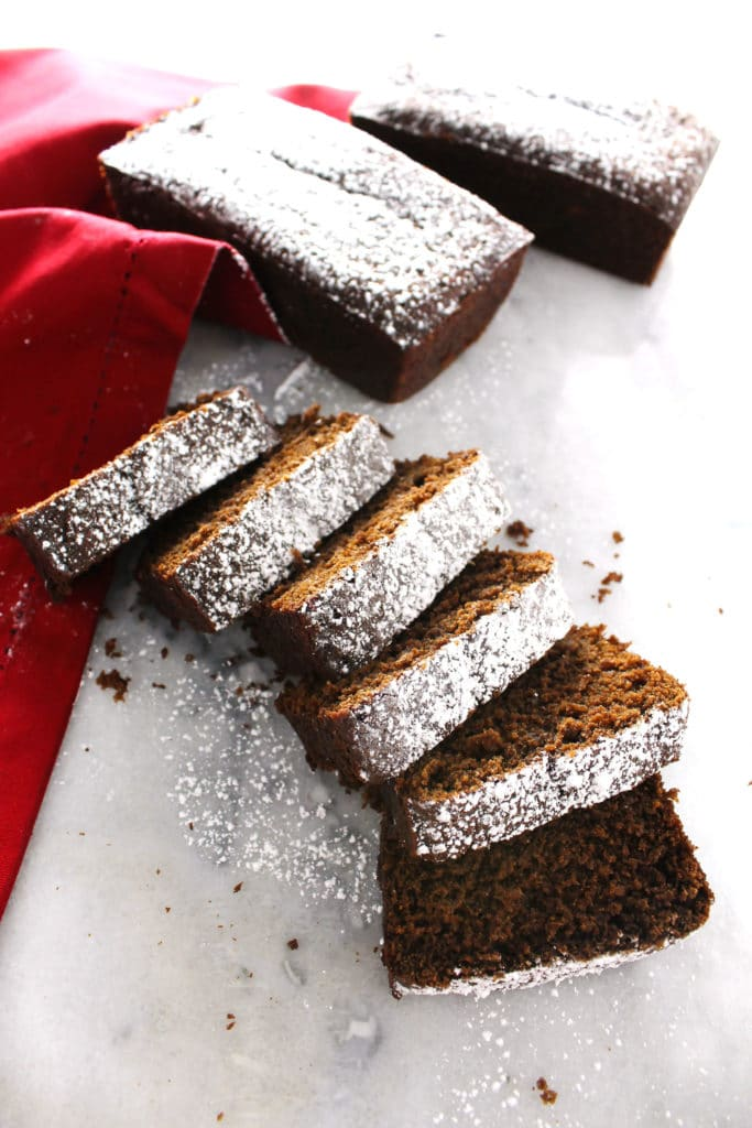 When it comes to holiday baking Gingerbread is at the top of this list this time of year and this Gingerbread Loaf is the perfect treat to enjoy or share.