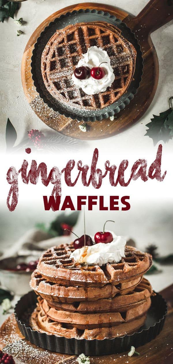 gingerbread waffles long pin