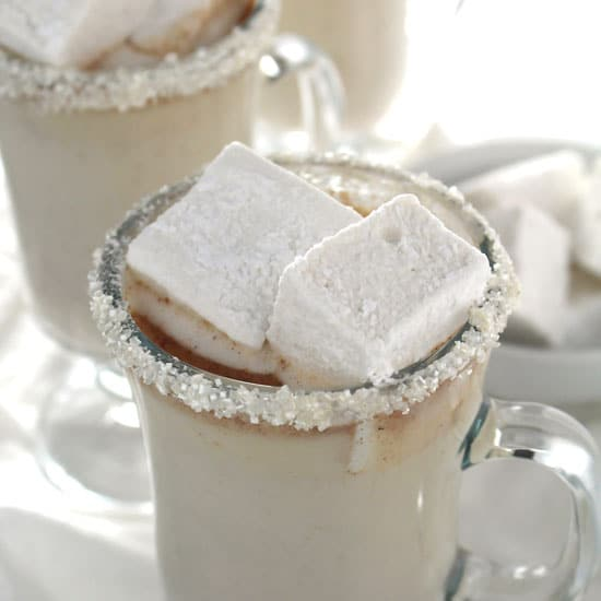 Spiced Coconut Milk White Hot Chocolate