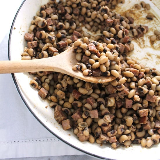 Spicy Southern Black Eyed Peas