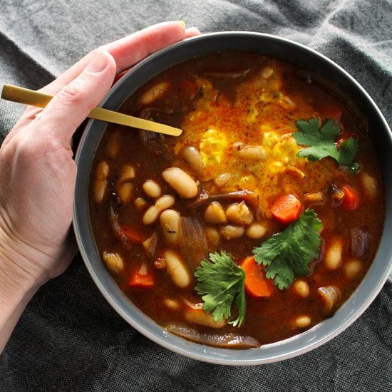 Thai White Bean Stew with Turmeric Yogurt