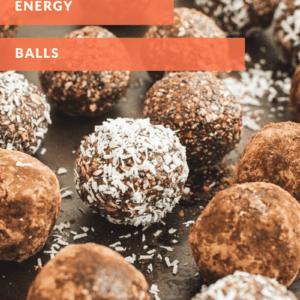 coconut energy bites with orange title