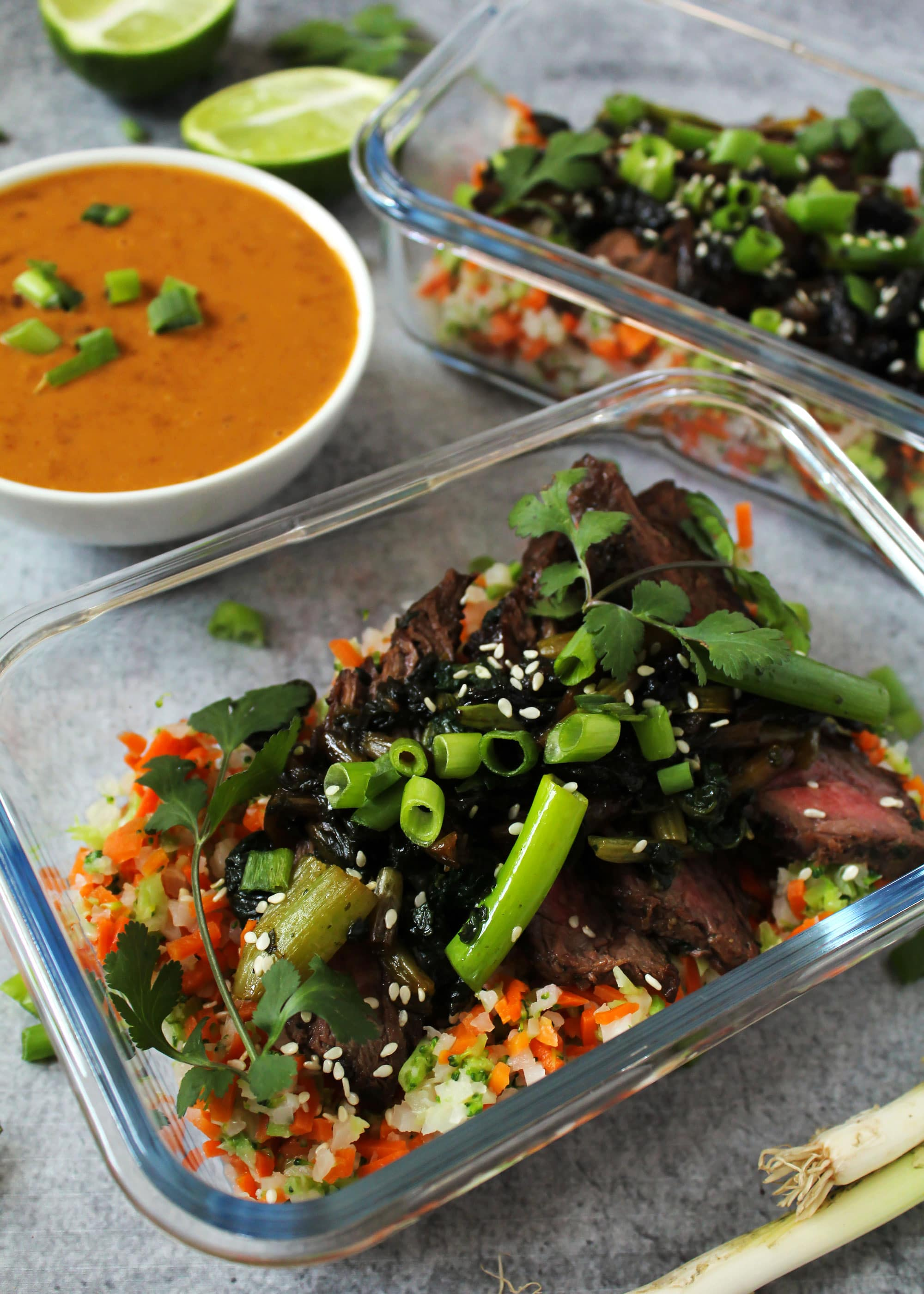 beef and vegetable meal prep recipe