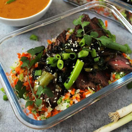 Meal Prep Vietnamese Beef & Riced Veggies