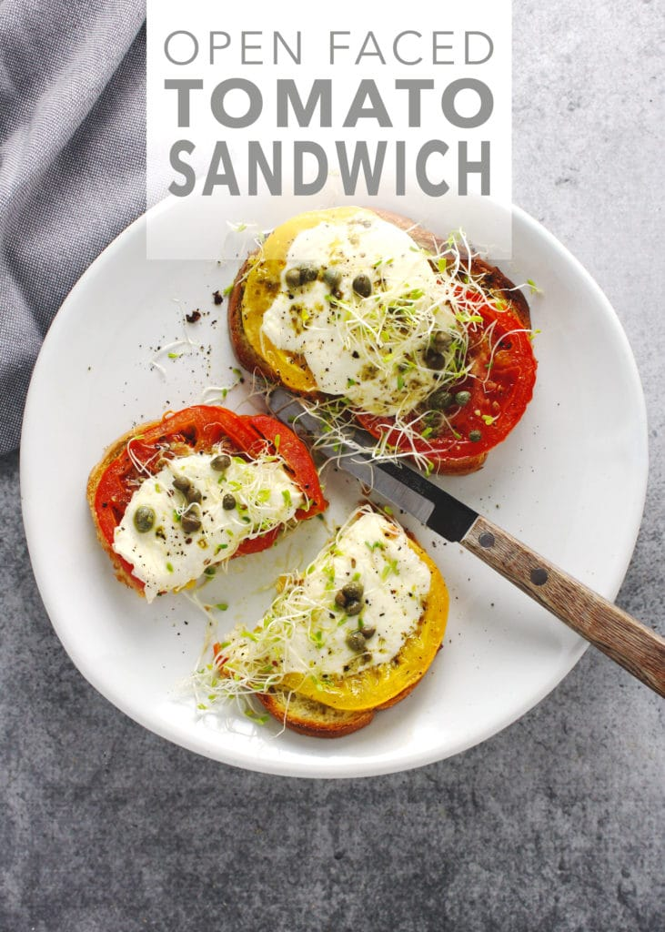 ... tomatoes and this tomato sandwich has it all | via @AimeeMarsLiving