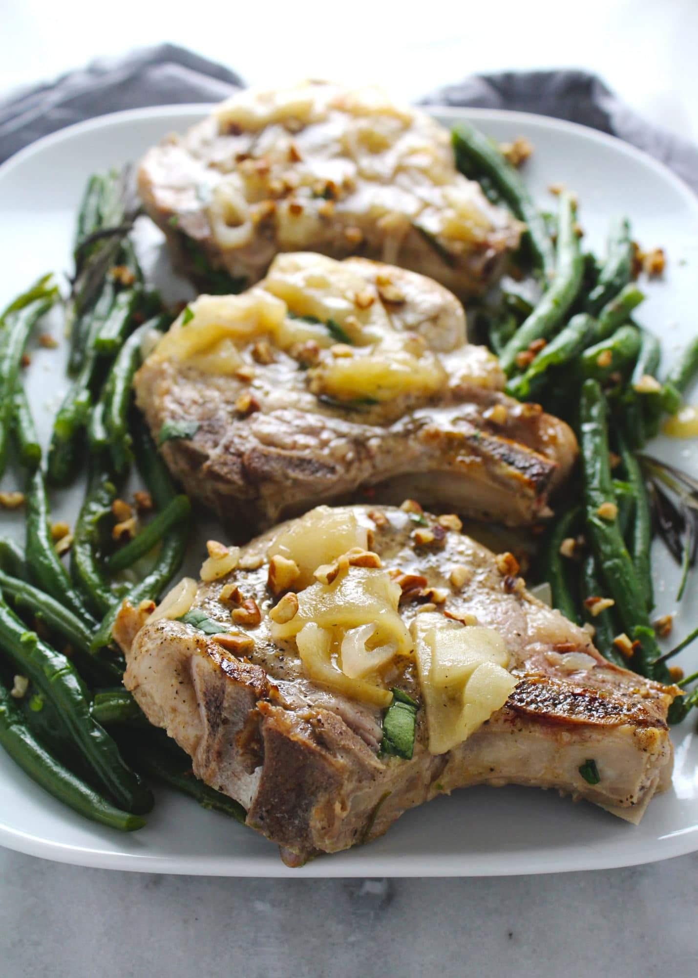 brined pork chop recipe