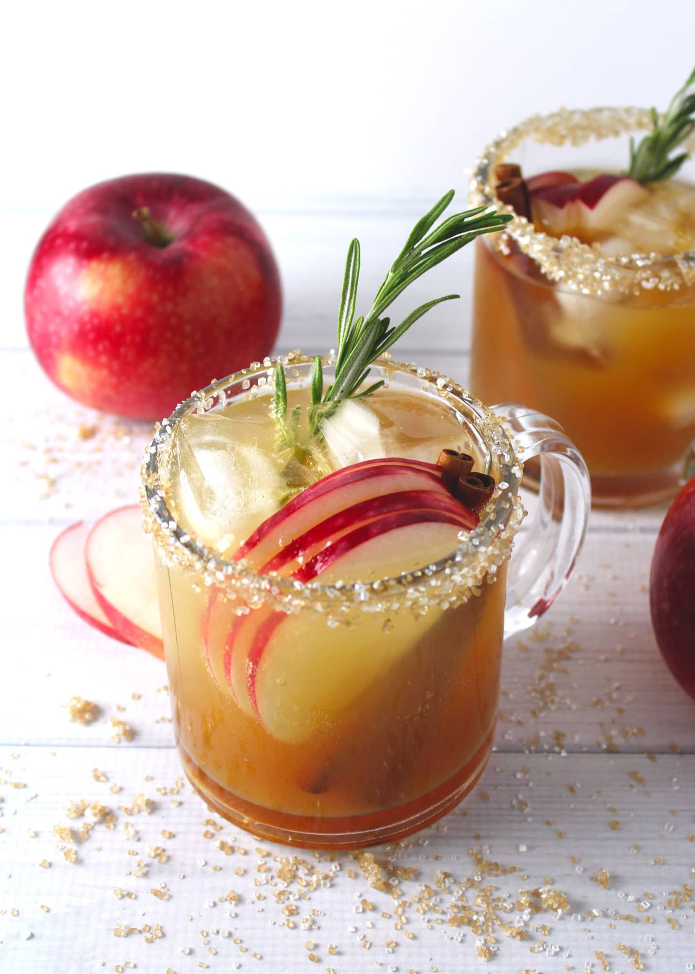 apple cider maple fizz aimee mars the dinner chef