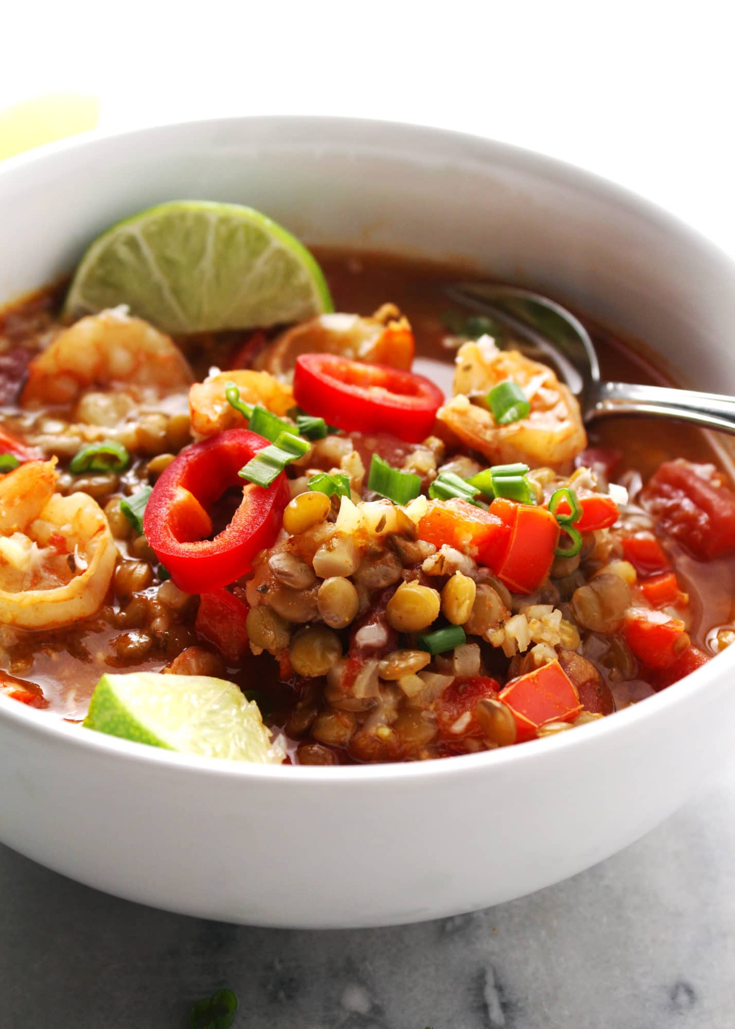 Instant-Pot-Shrimp-and-Lentil-Stew-5