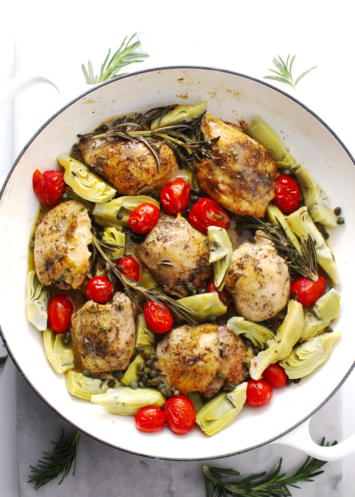 Charred Rosemary Vinaigrette Chicken