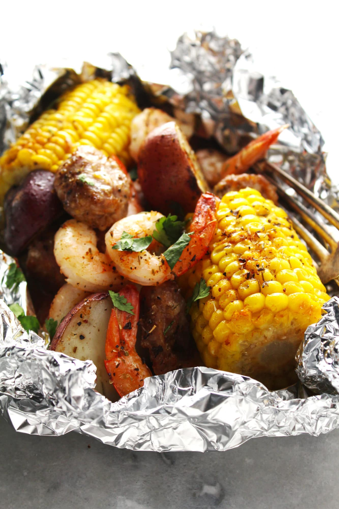 Foil Packet Low Country Boil