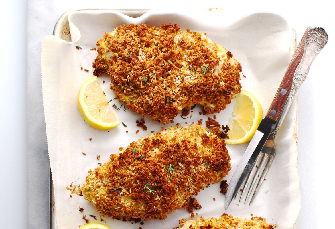 Gluten-Free Breaded Coconut Chicken
