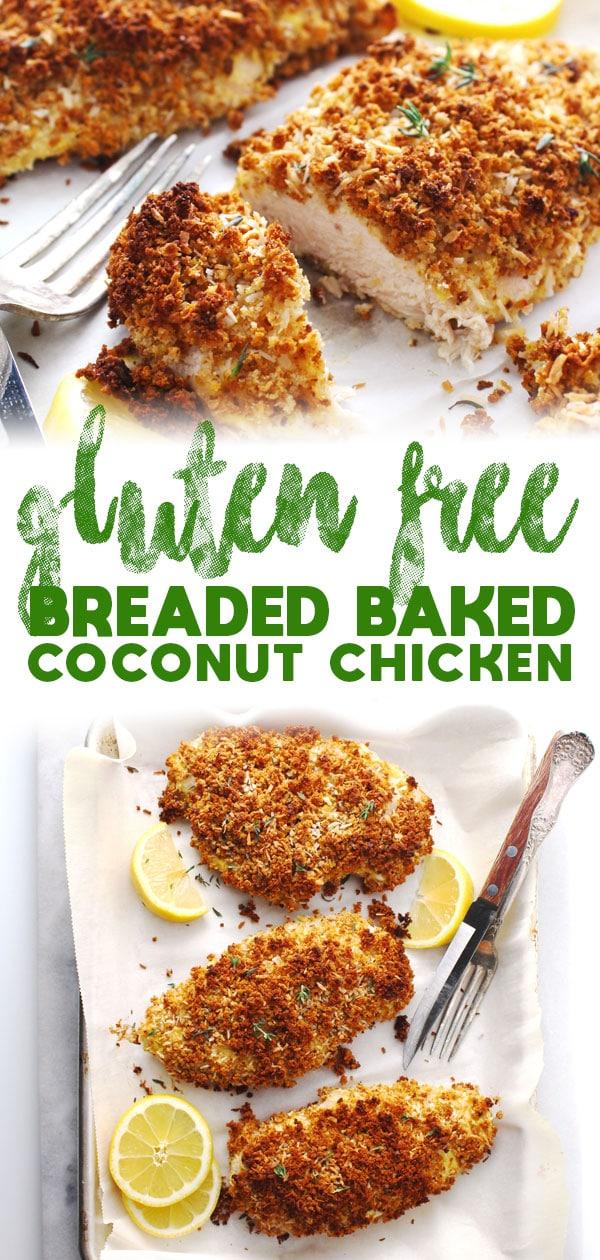 Gluten Free Breaded Coconut Chicken