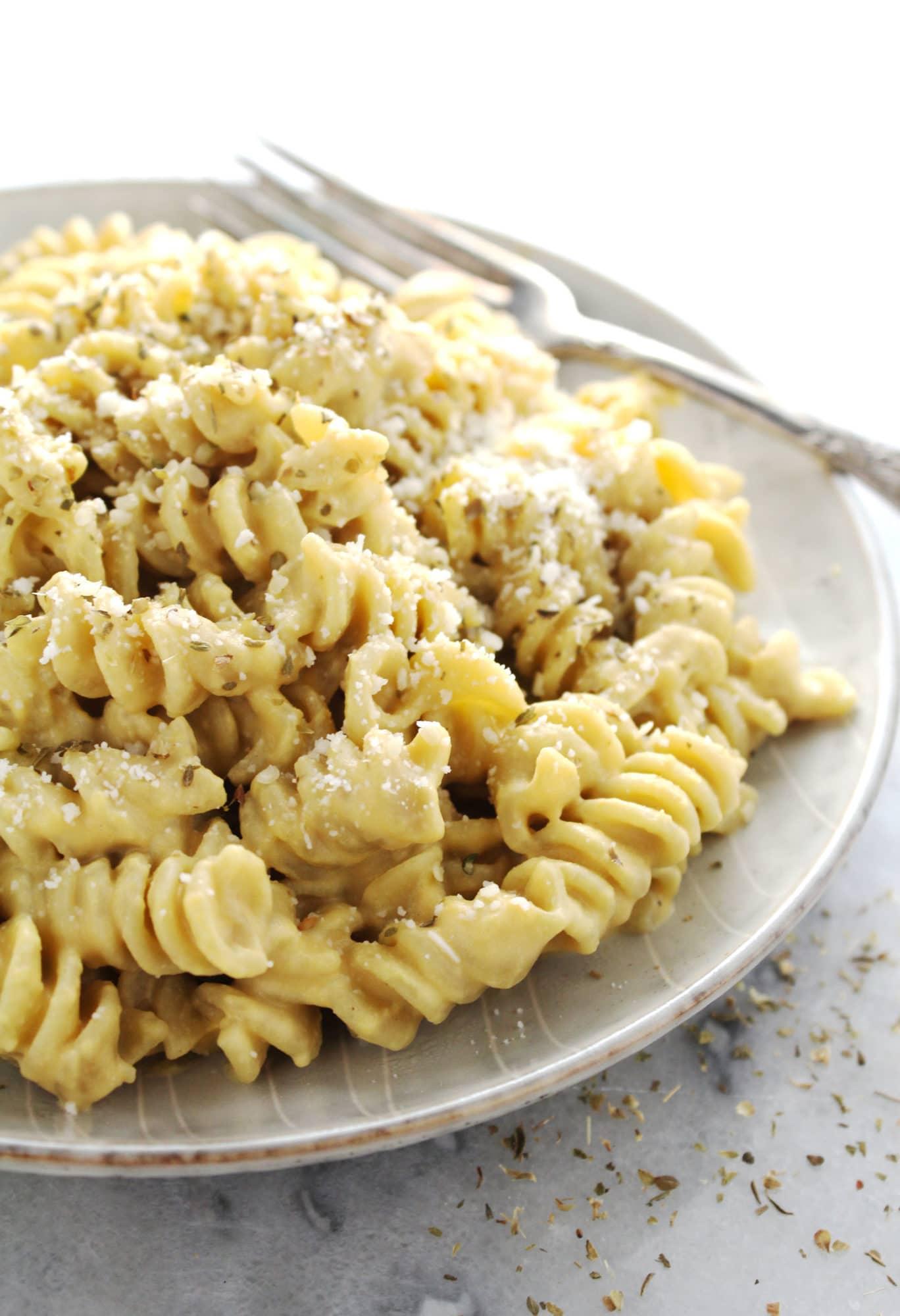 Vegan Butternut Squash Macaroni