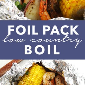 Foil Pack Low Country Boil