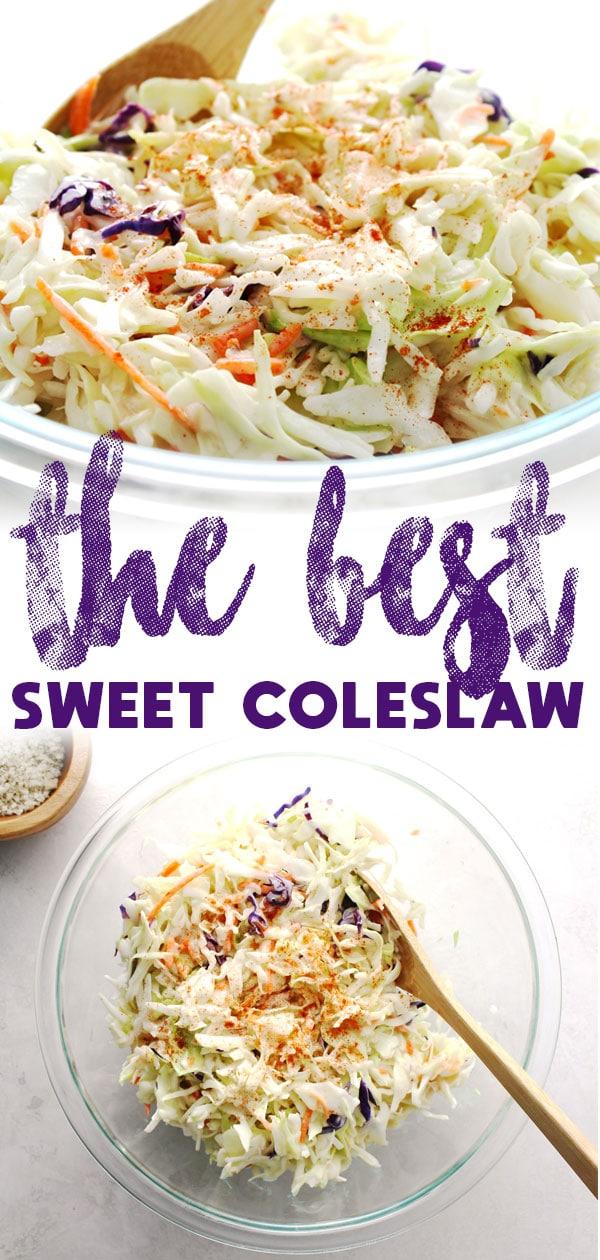 Sweet Coleslaw