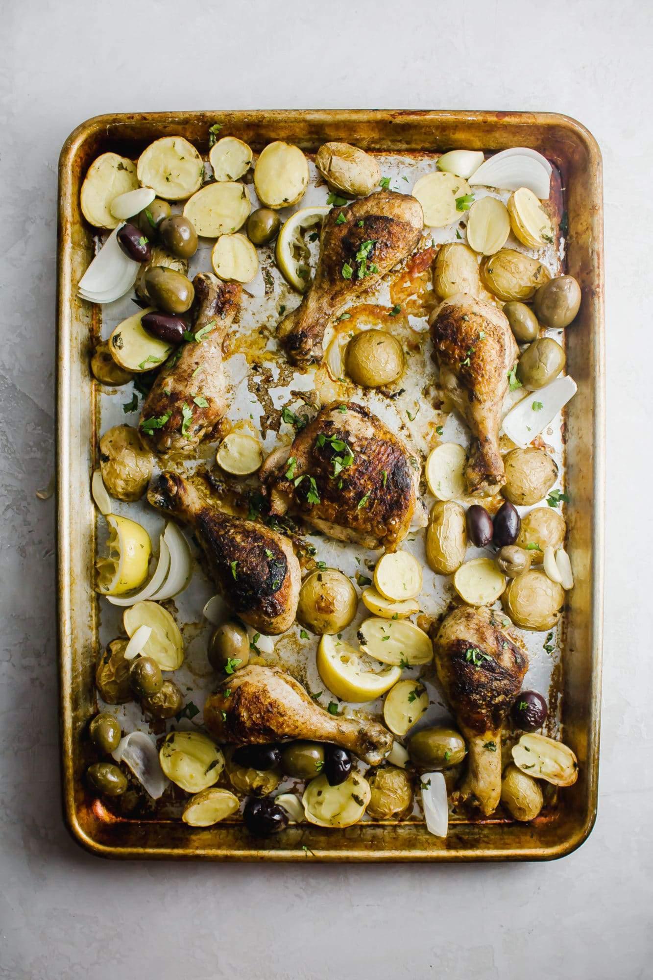 Crispy Mediterranean Spiced Chicken