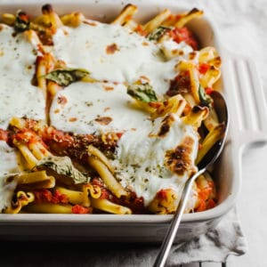 Margarita Pizza Casserole