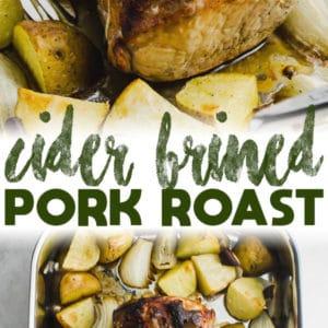 Cider Brined Pork Roast