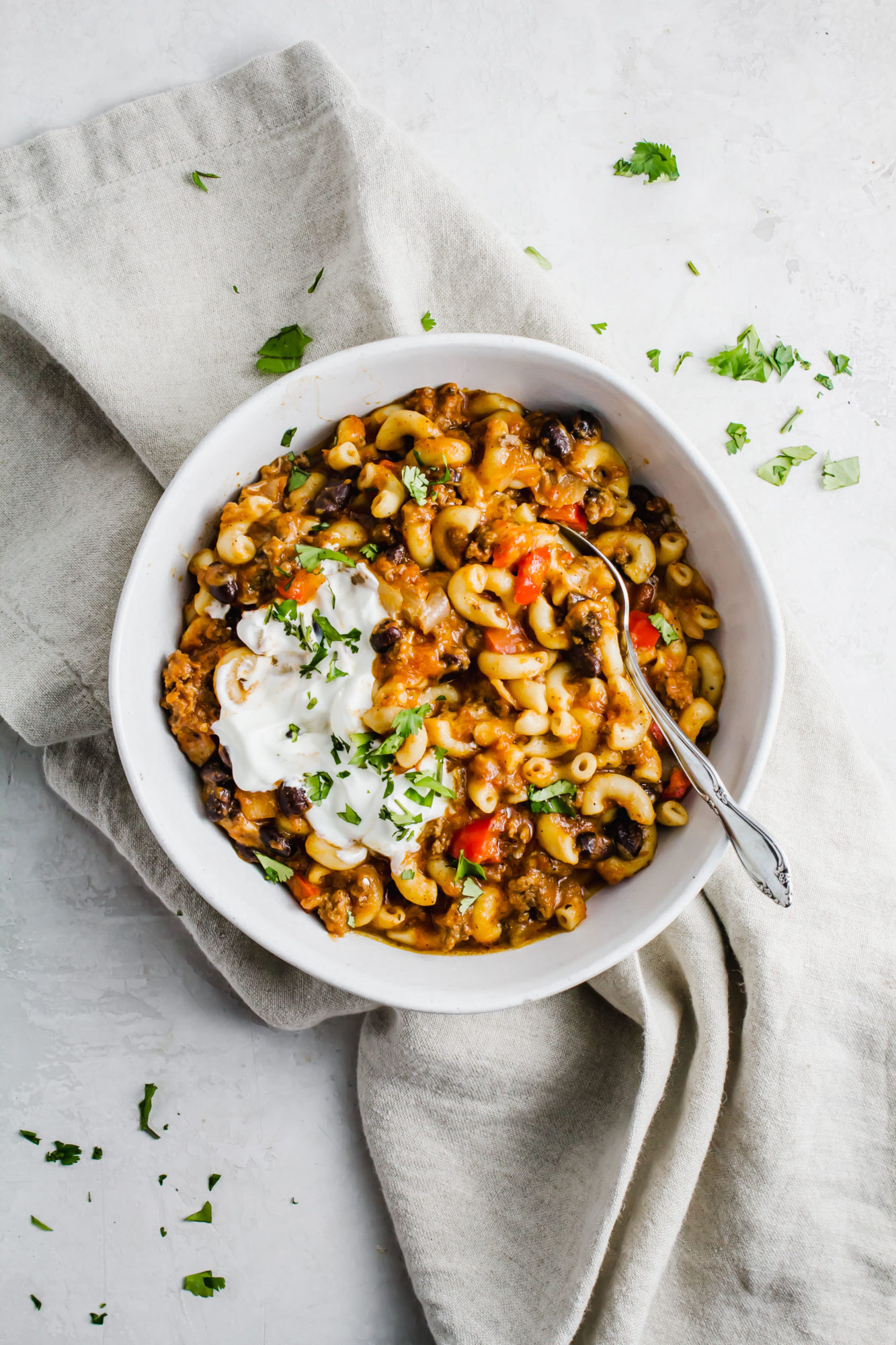 Instant Pot Chili Mac and Cheese