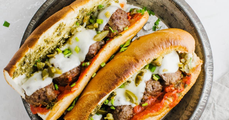 Meatball Sub Sandwiches
