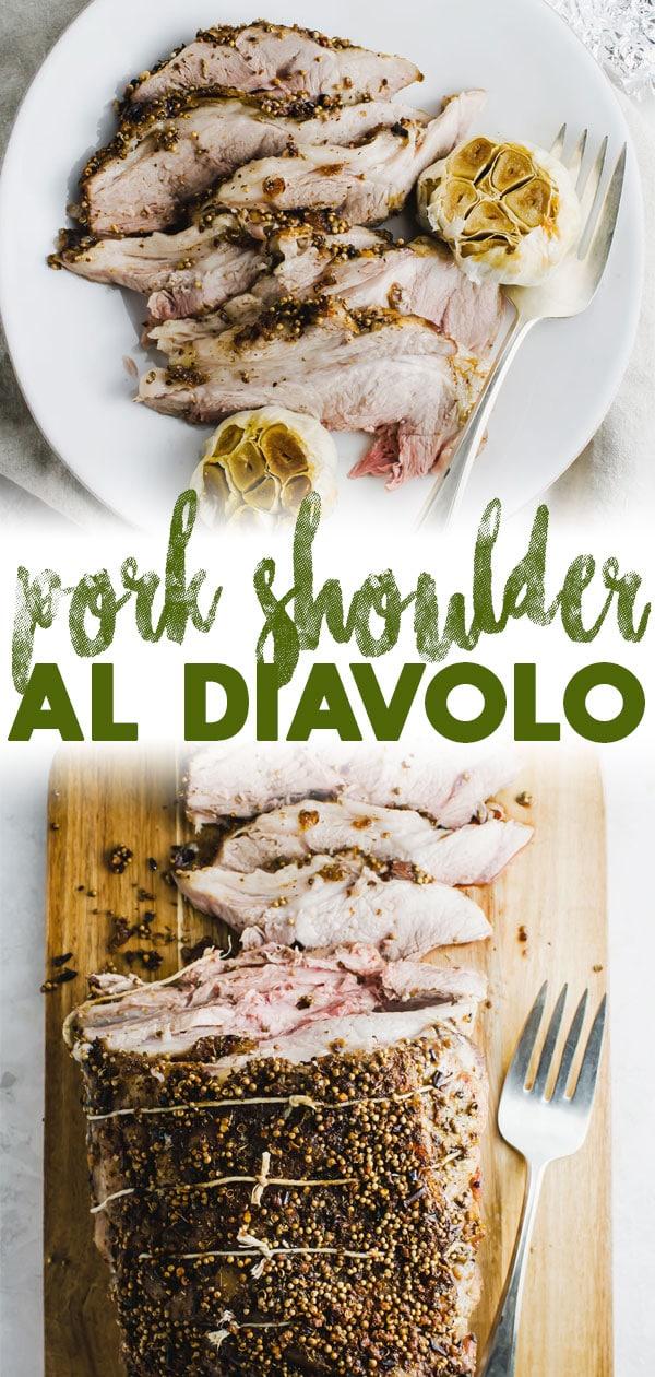 Pork Shoulder al Diavolo