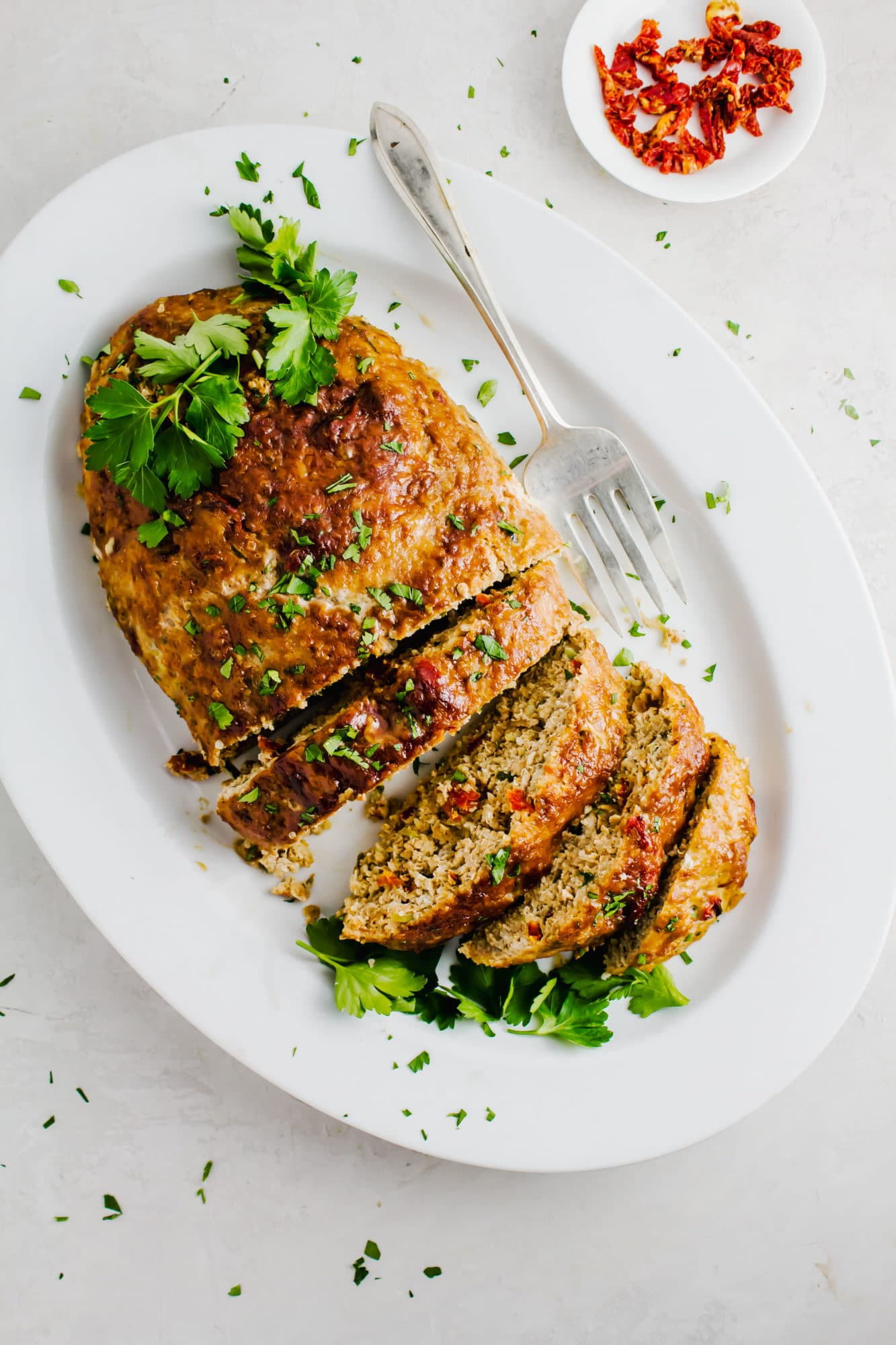 Chicken Quinoa Meatloaf