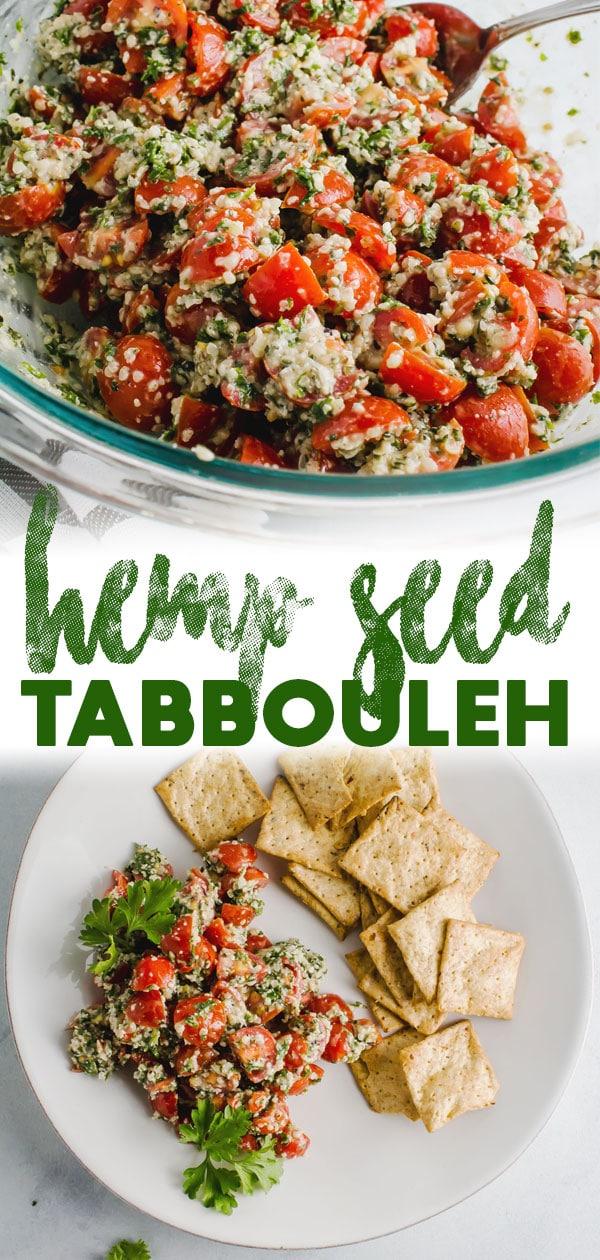 Hemp Seed Tabbouleh
