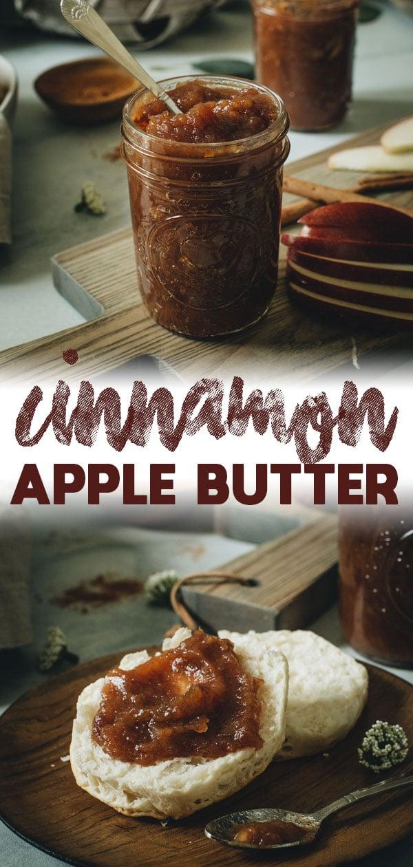 Cinnamon Apple Butter