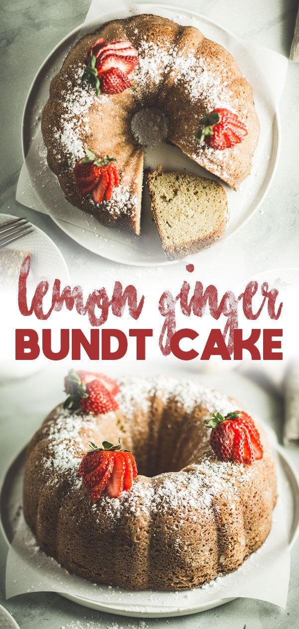Lemon Ginger Bundt Cake