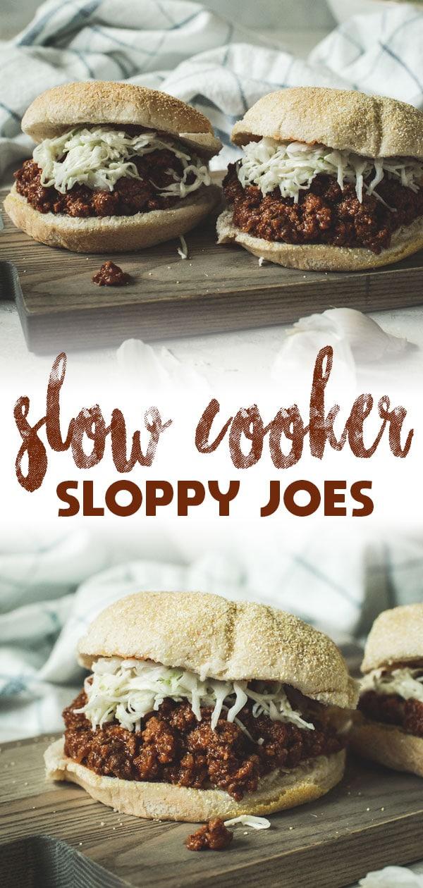 slow cooker sloppy joe