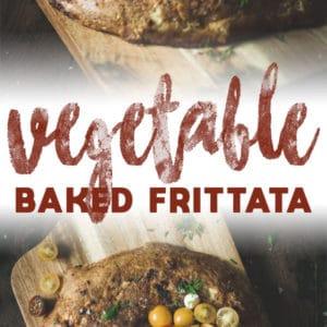 Vegetable Baked Frittata