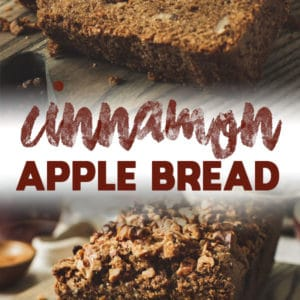 cinnamon apple bread