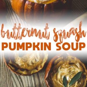 butternut squash pumpkin soup