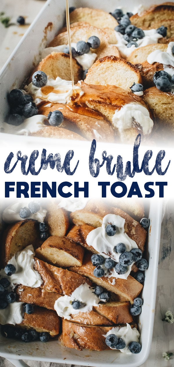 creme brulee french toast long pin