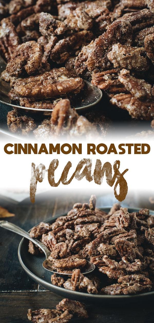 cinnamon roasted pecans long pin