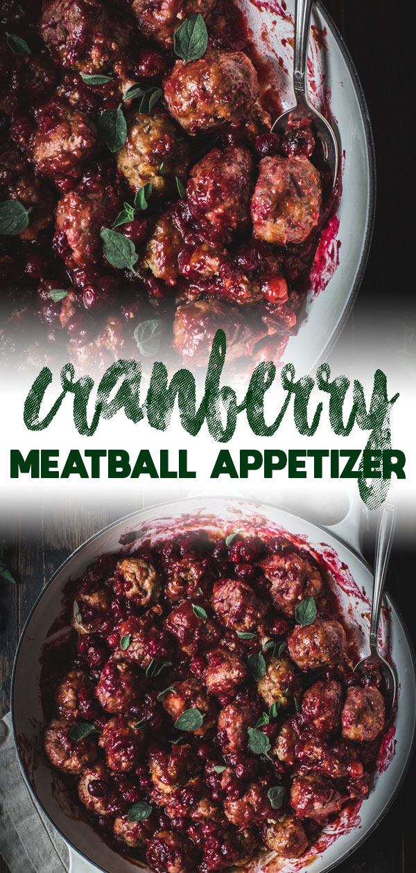 cranberry meatballs long pin