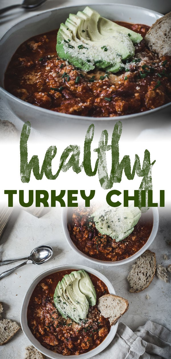 healthy turkey chili long pin