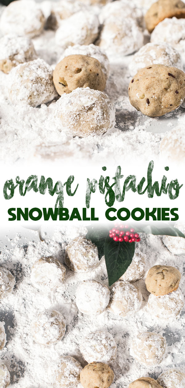 snowball cookie long pin