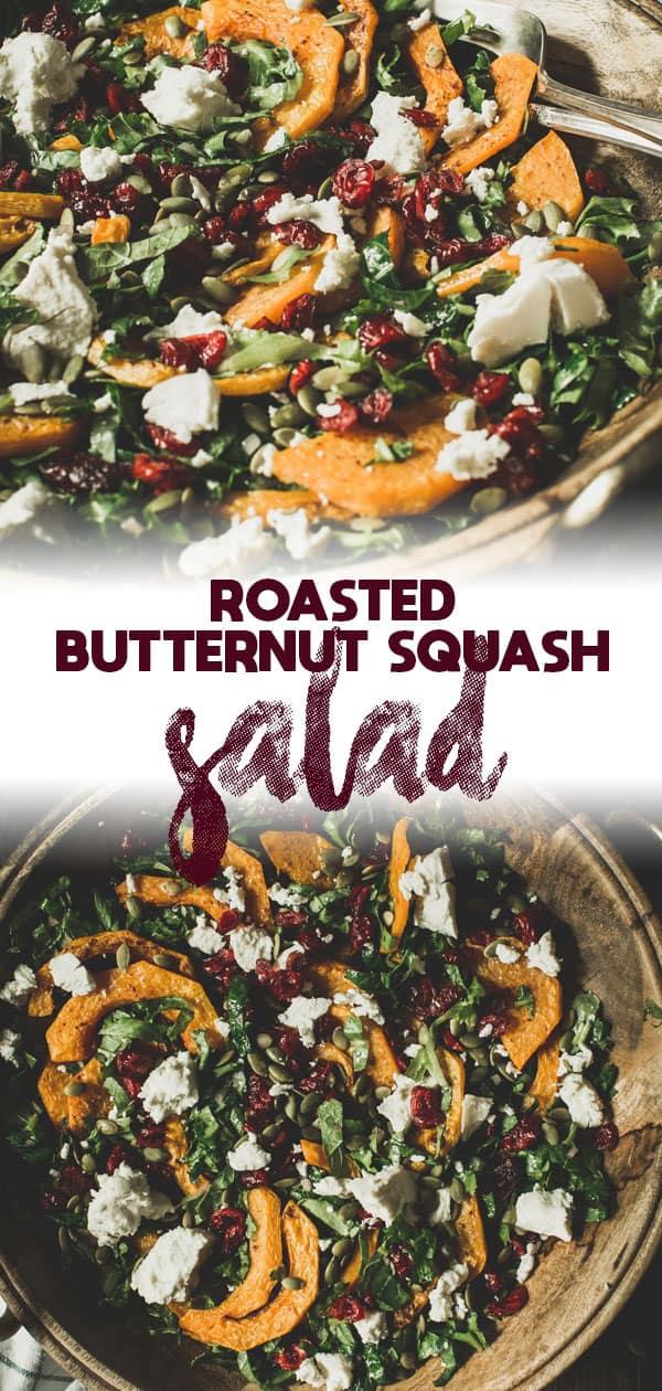 butternut squash salad long pin