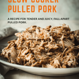 pulled pork with orange title