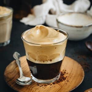 recipe image for making Indian cappuccino