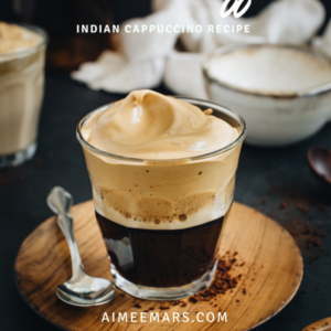 how to make Indian style coffee Pinterest image